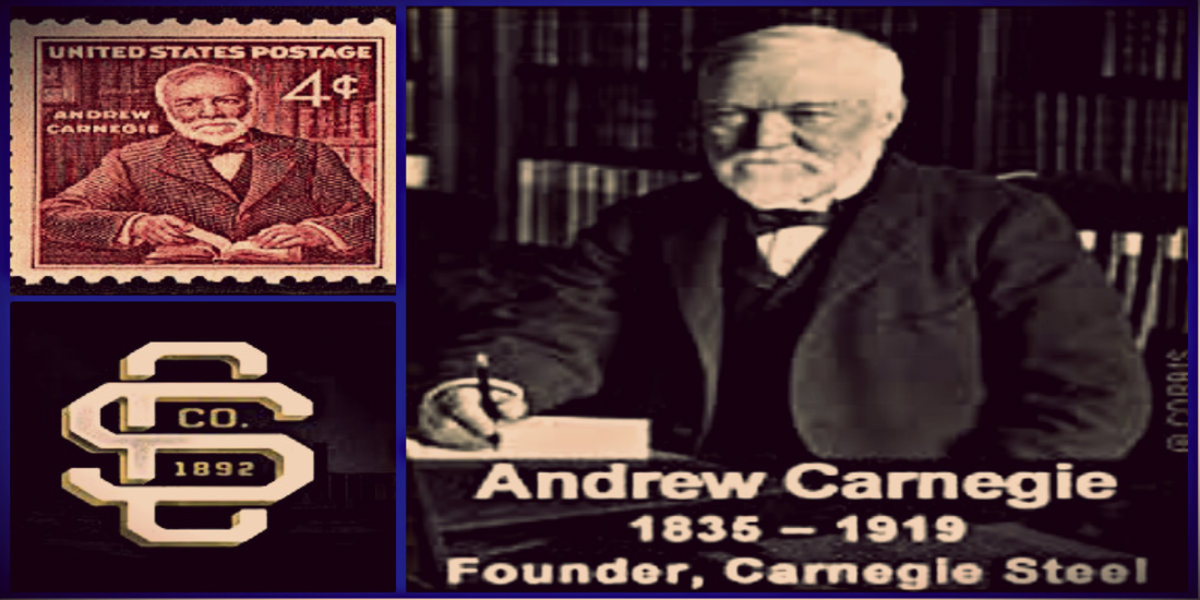 carnegie steel mill company essay Carnegie worked with others in establishing a steel rolling mill, and steel  after he sold his steel company in 1901, carnegie was  andrew carnegie.